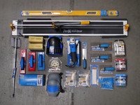 Ultimate Tile Installer's Tool Box Set