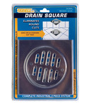 "6"" Nickel Shower Drain Frame Kit"