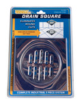 "6"" Stainless Steel Shower Drain Frame Kit"