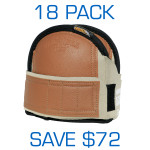 Super Soft Knee Pads - Med Leatherhead 18 Pack ($35.95 ea)