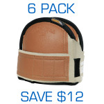 Super Soft Knee Pads - Med Leatherhead 6 Pack ($37.95 ea)