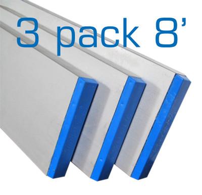 Aluminum Box Screed 8 ft - 3 Pack