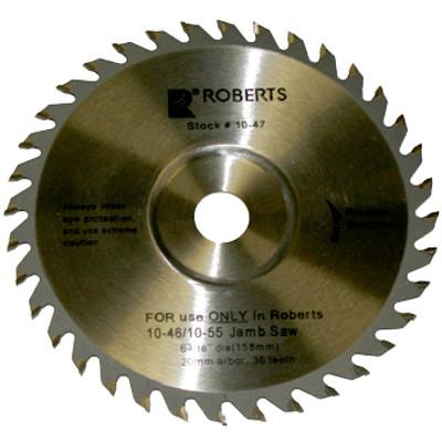 "Roberts 6-3/16"" Carbide Tip Saw Blade"