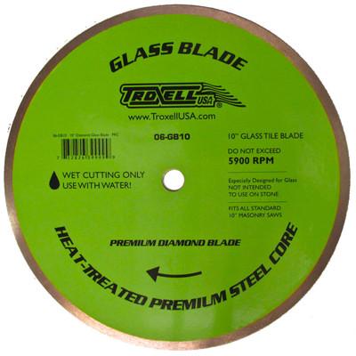 """10"""" Glass Tile Diamond Blade"""