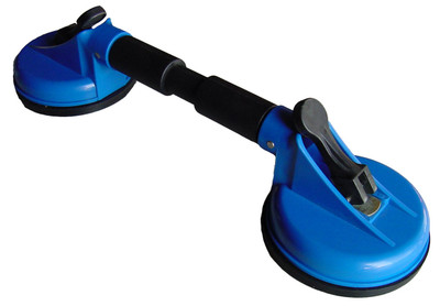 """Suction Cup 6"""" Dual Cups on Bar Handle"""