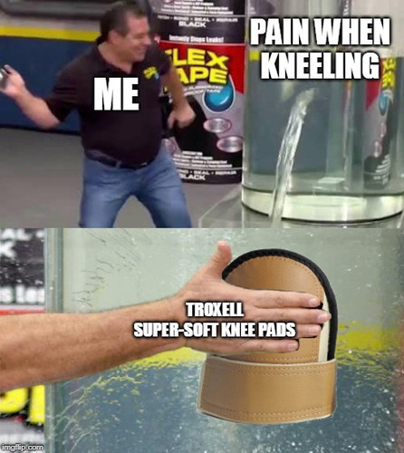 Protect your knees like you would protect your head!