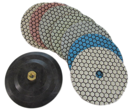 "7"" Diamond Polishing Pads"