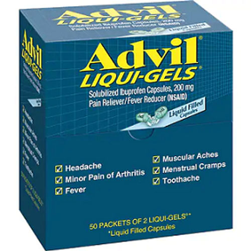 Advil Liqui-Gels 50ct.