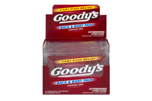 Wholesale Goody's Back and Body Pain Reliever.