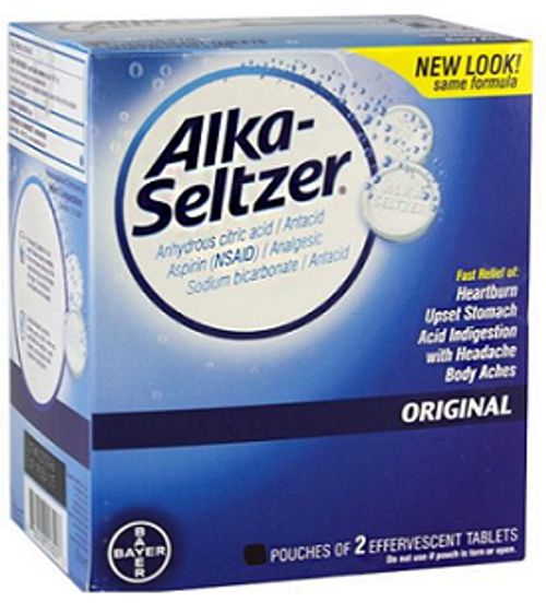 Wholesale Alka Seltzer 25ct.