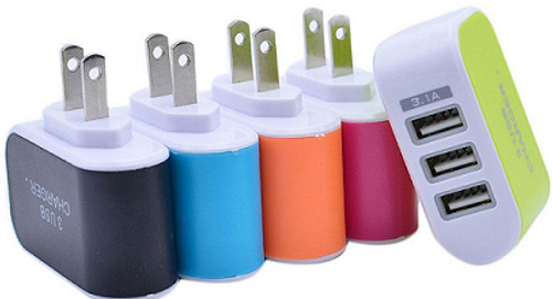 Three Port Wall Chargers