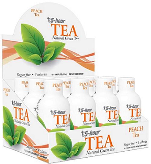 Wholesale 5-Hour Energy Tea Peach 12ct.