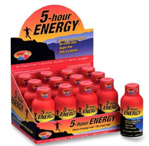 Wholesale 5-hour Energy Regular Berry