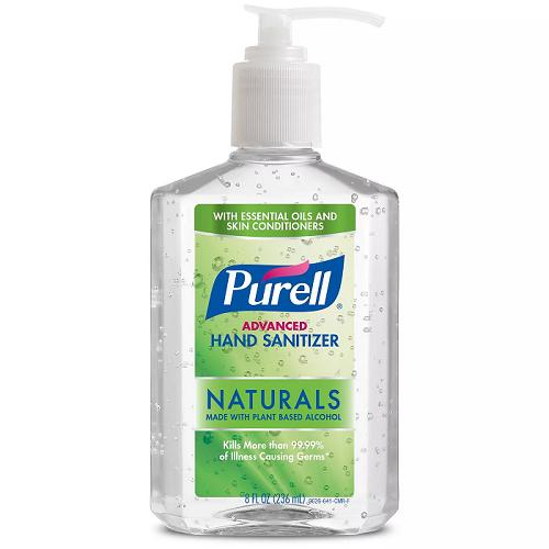 Purell Naturals 8oz
