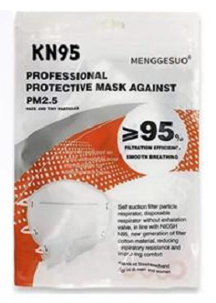 KN95 Mask 10ct. Bag