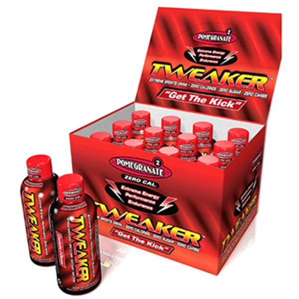 Tweaker Energy Shots  Pomegranate