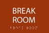 Break Room ADA Sign