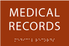 Medical Records ADA Sign