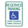 Arkansas Handicap Reserved Parking Sign