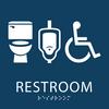 Gender Neutral ADA Restroom sign
