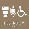 ADA Gender Neutral Restroom Sign