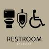 Custom restroom signs