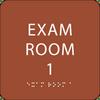Orange Exam Room 1 ADA Sign
