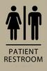 ADA Patient Restroom Sign
