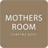 Mother's Room Sign Light Brown