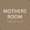 Mother's Room Sign Light Brown