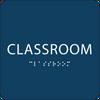 "Classroom ADA Sign - 6"" x 6"""