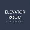 Navy Elevator Room ADA Sign