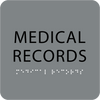 Grey Medical Records Tactile Sign
