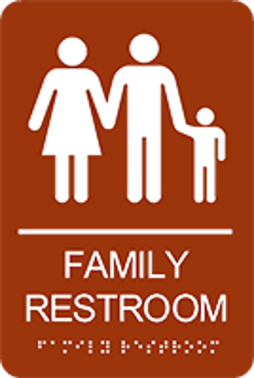 Family Restroom ADA Sign
