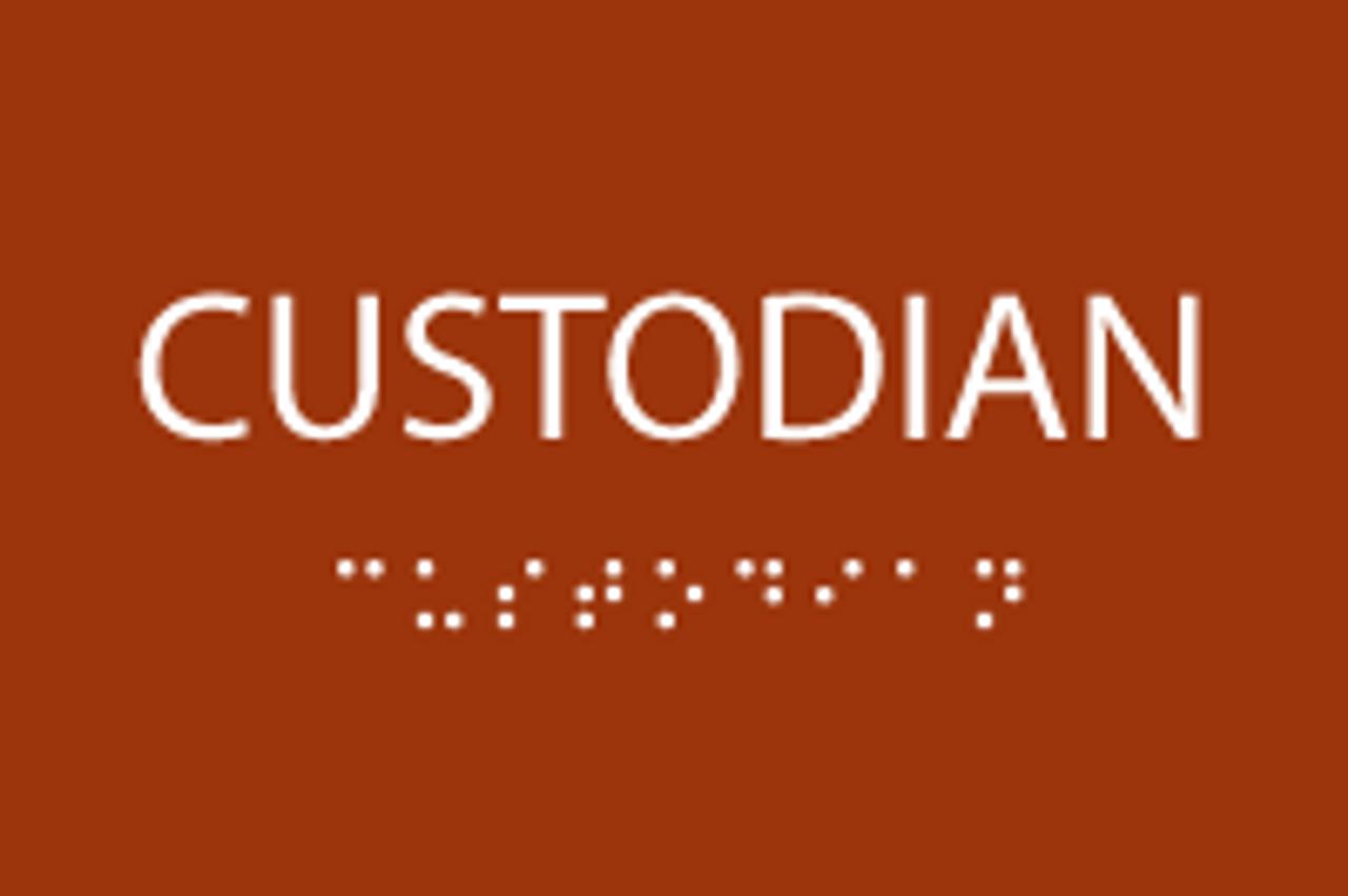 ADA Custodian Sign