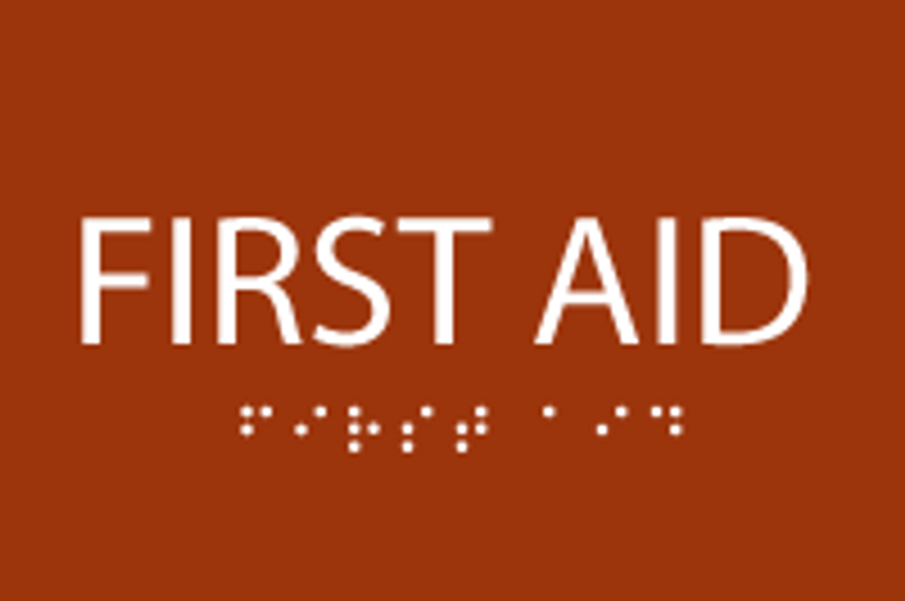 ADA First Aid Sign