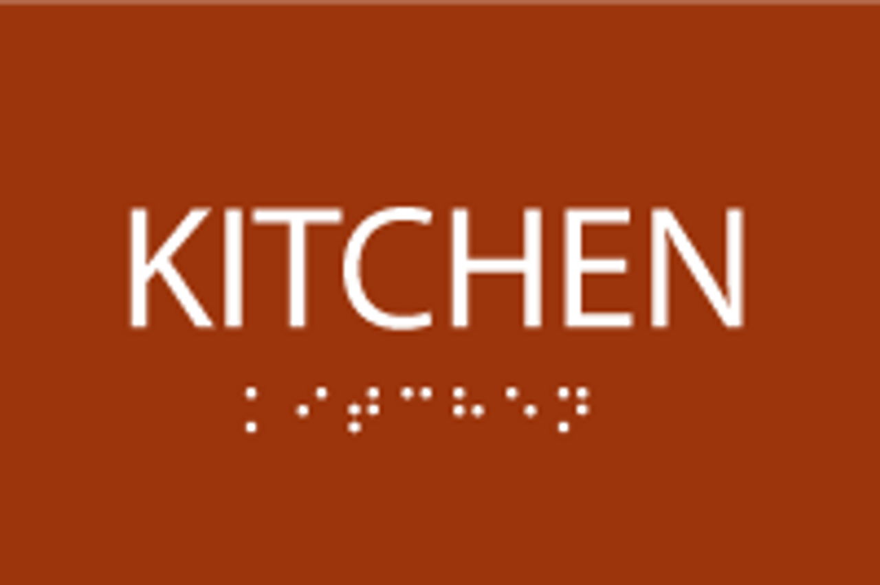 ADA Kitchen Sign