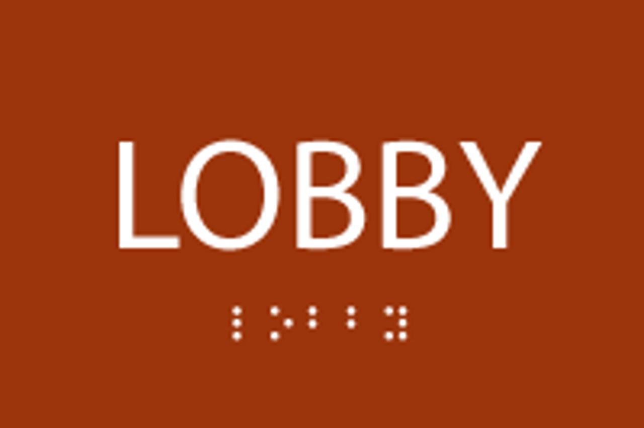 ADA Lobby Sign