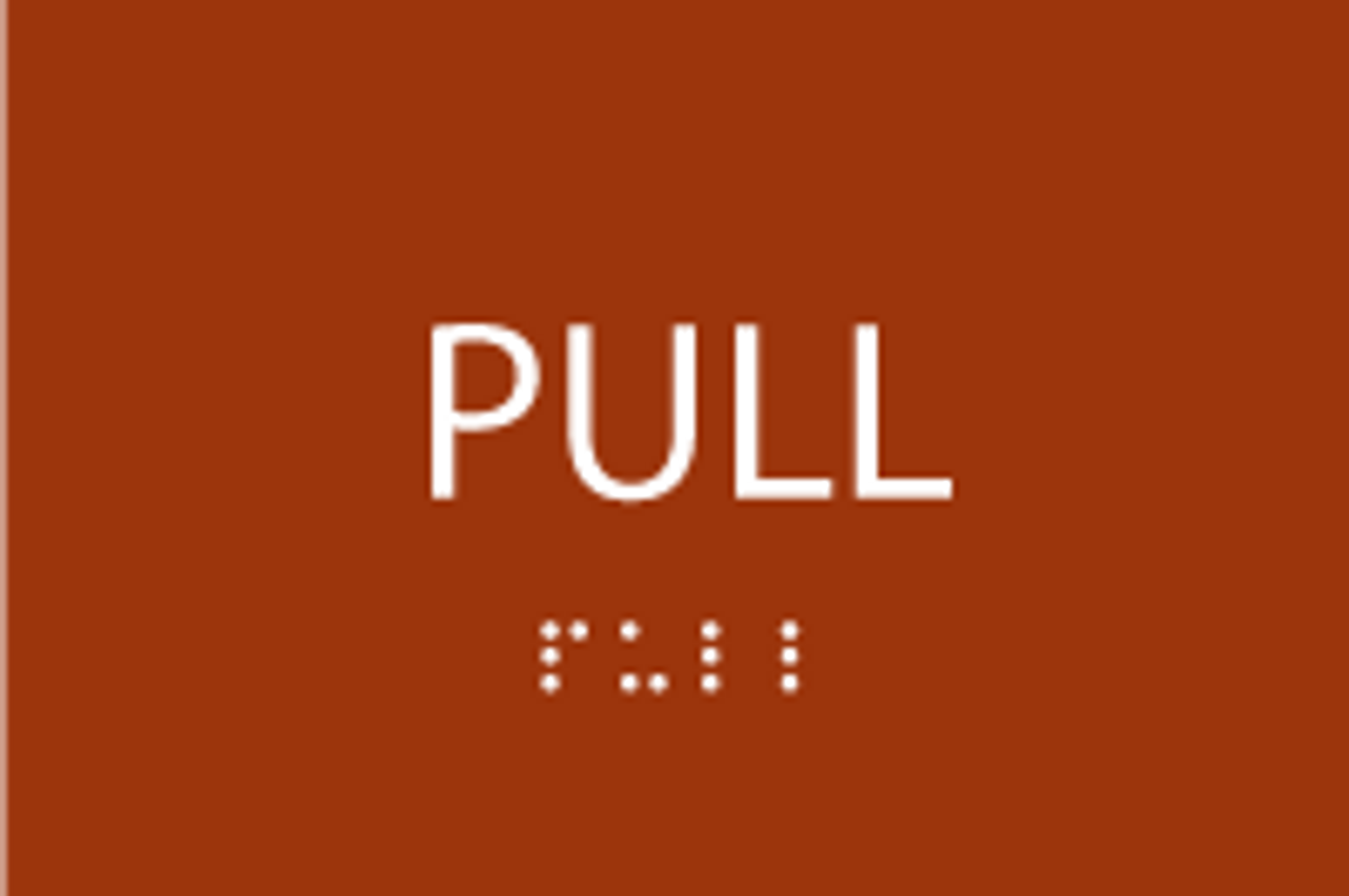 ADA Pull Sign