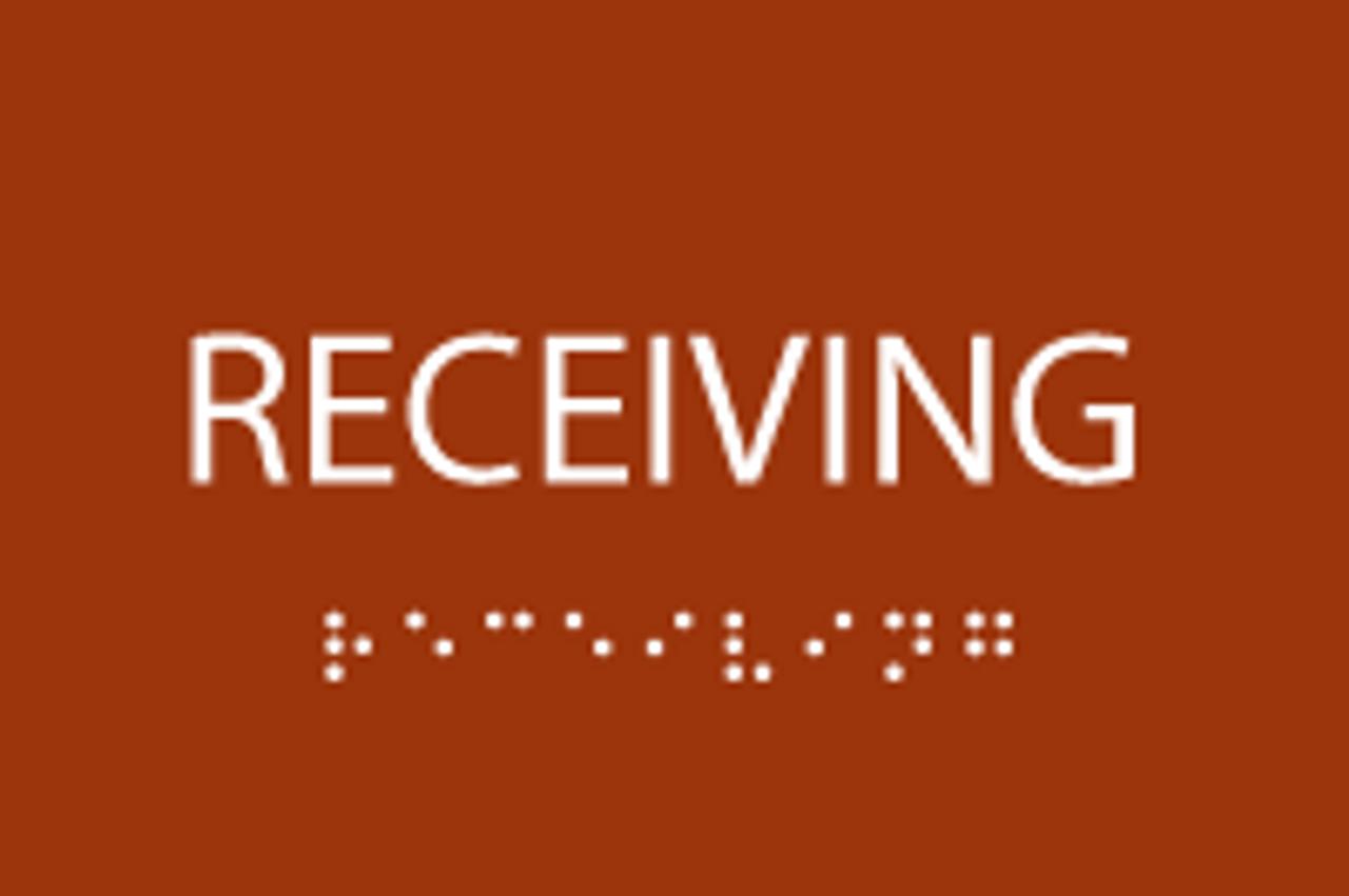 Receiving ADA Sign