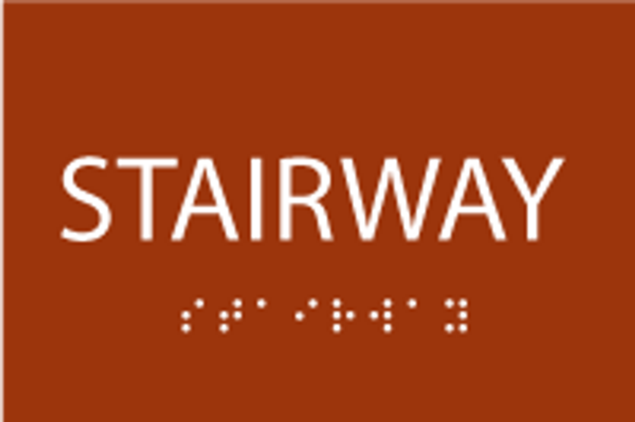 Stairway ADA Sign