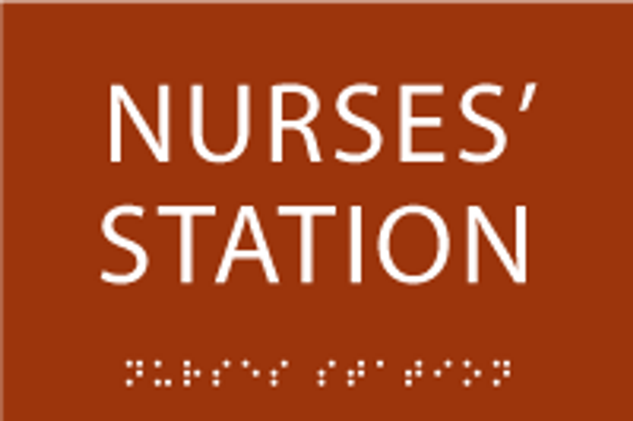 Nurses' Station ADA Sign