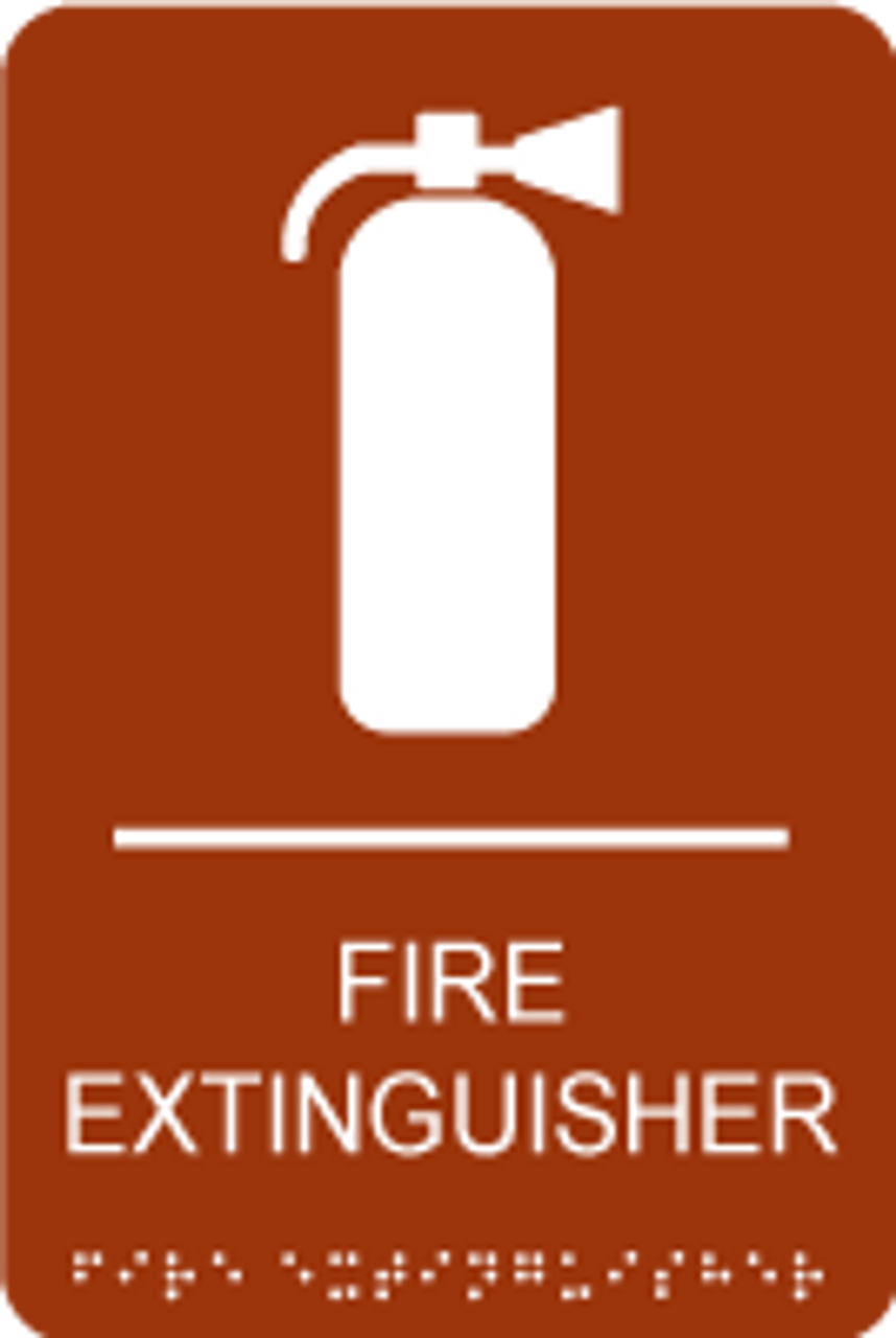 Fire Extinguisher ADA Sign
