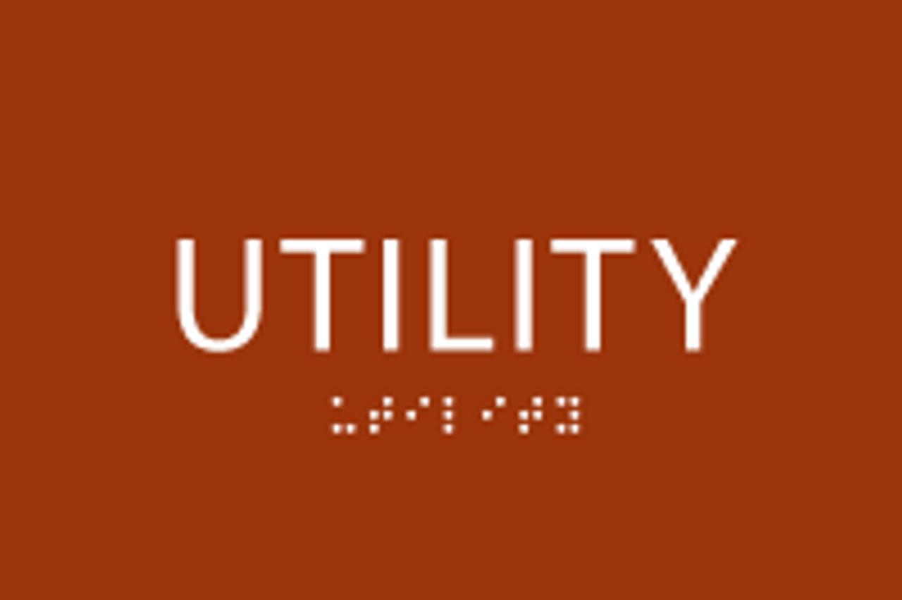 ADA Utility Sign