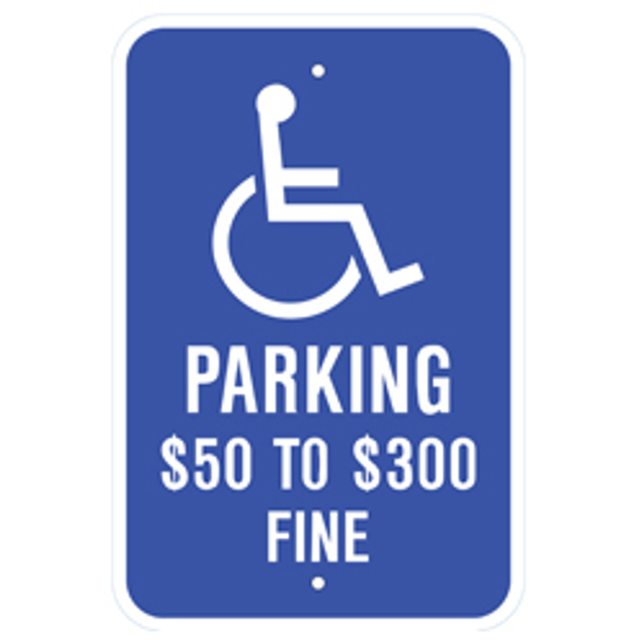 Missouri Handicap Parking Sign