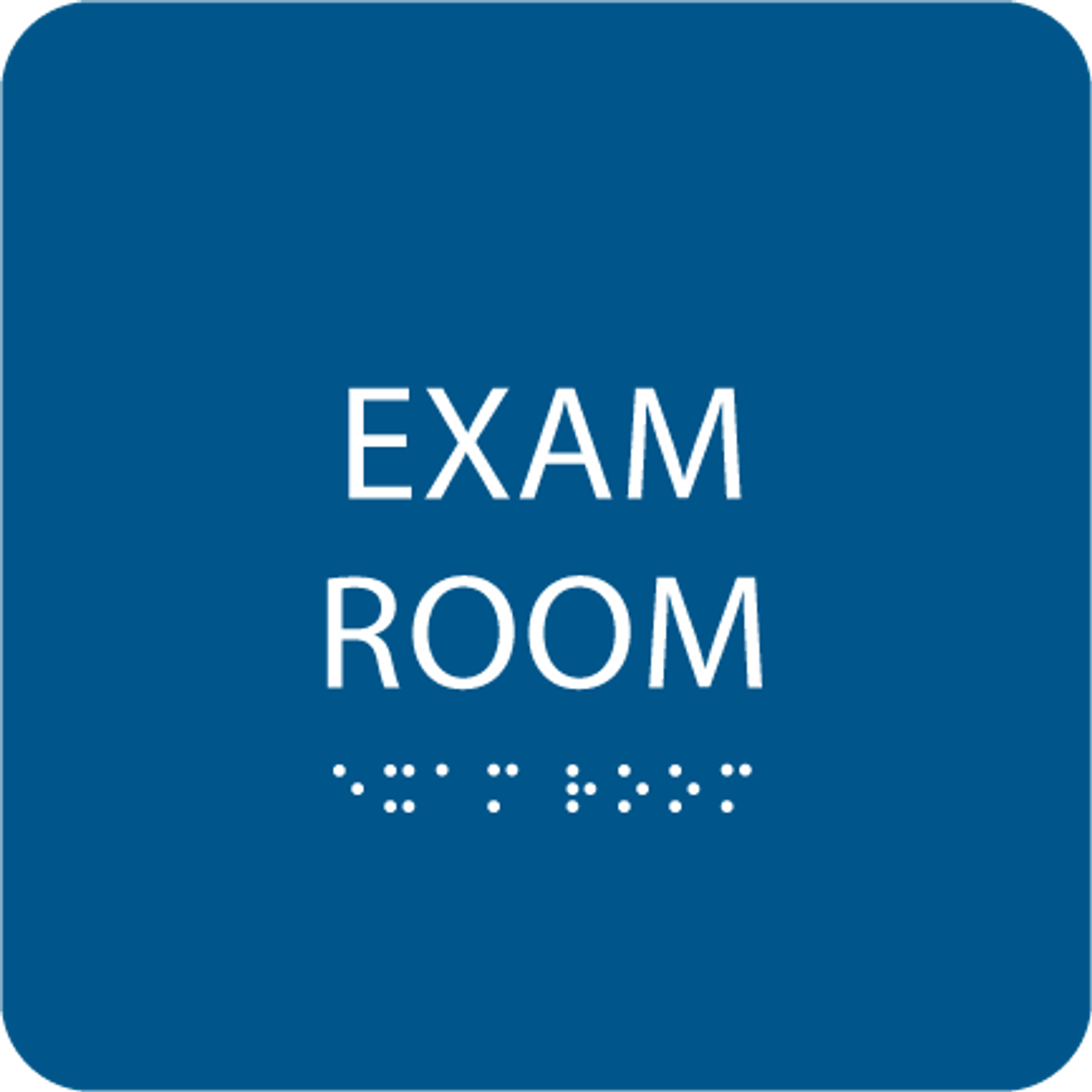 "Exam Room ADA Sign - 6"" x 6"""