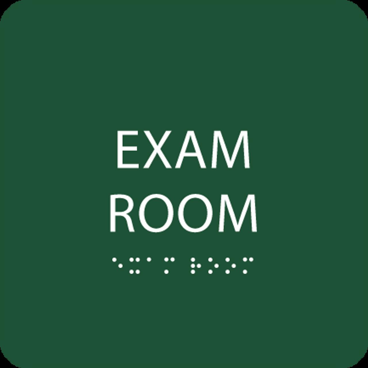 "Exam Room ADA Sign - 6"" x 6"""