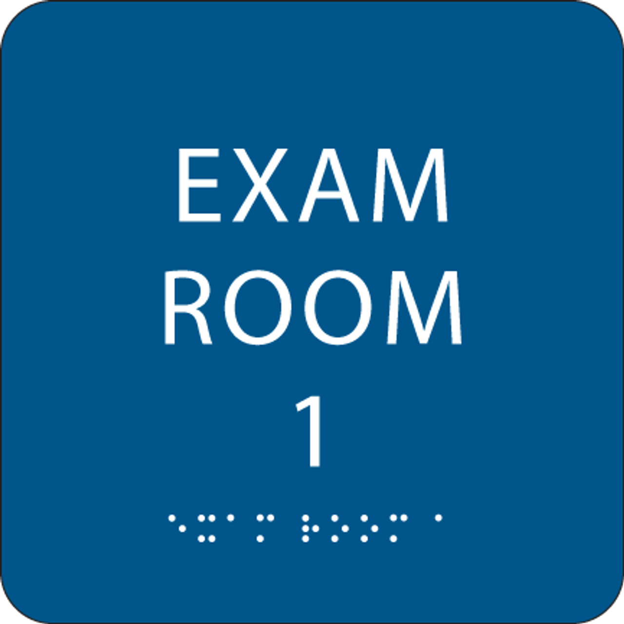 Royal Exam Room 1 ADA Sign