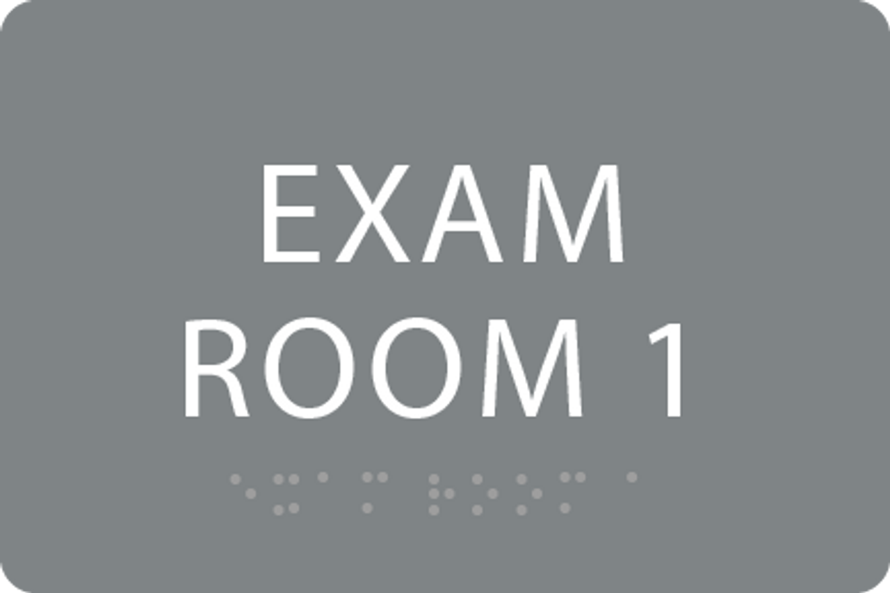 ADA Exam Room 1 Sign
