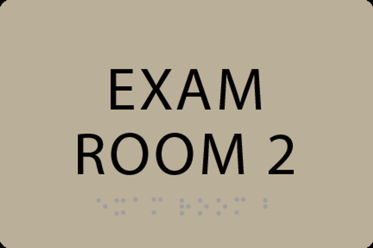 ADA Exam Room 2 Sign